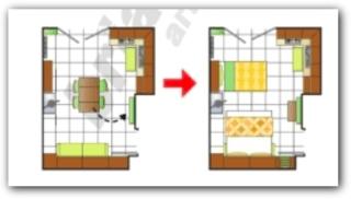 piantina di una casa