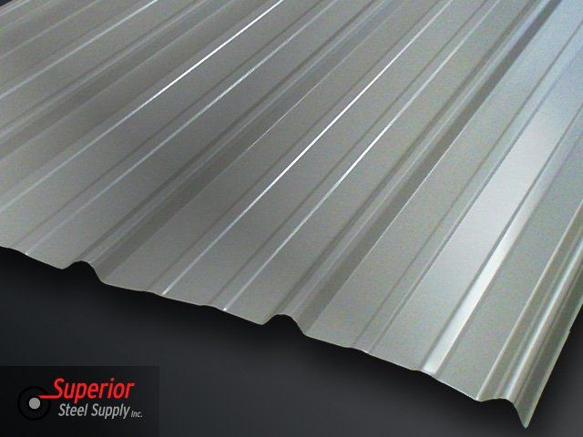 "Superior Steel Supply - Bismarck, ND - 36"" Classic Rib Steel Panel"