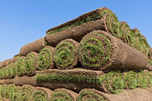 artificial grass stacks