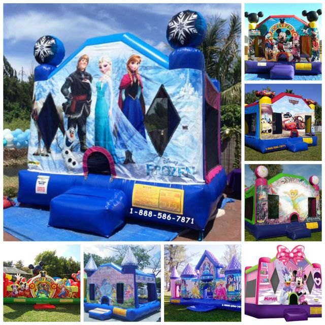 Bounce House Rentals And Party Inflatable Rentals In Miami
