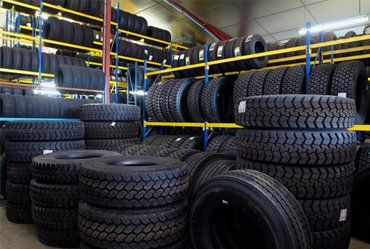 tyres of various sizes