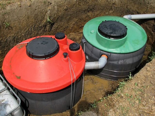 Septic system instalation
