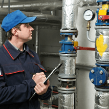 Central heating system repairs