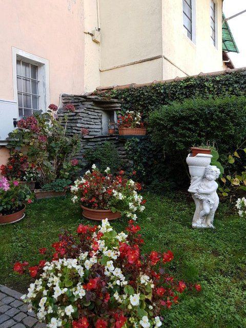 giardino della casa di riposo
