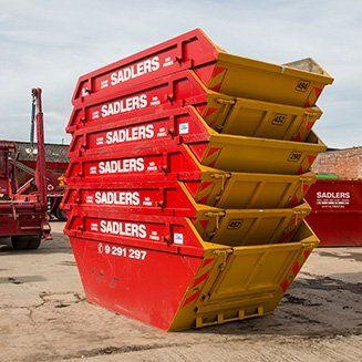 sadlers single stack containers