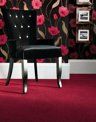 Rose themed flooring