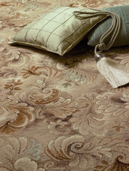 Flooring with pillow