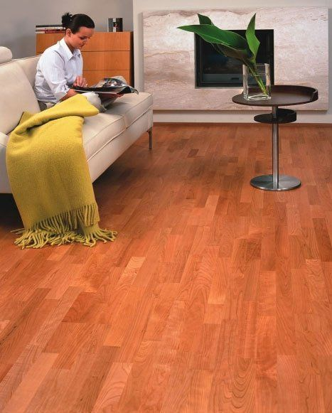 Wooden flooring at a home