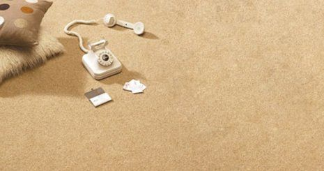 Telephone on a carpet