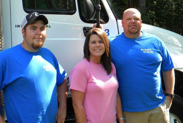 At Price's Septic Tank Service