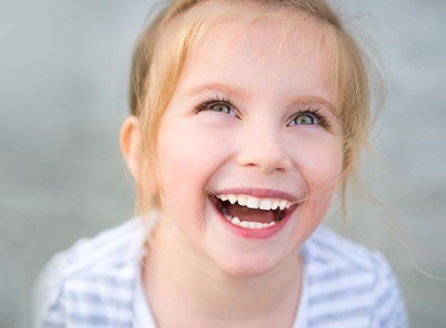 Patient after seeing our childrens dentist in Willowdale NSW