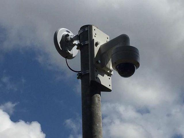 Discreet camera installations