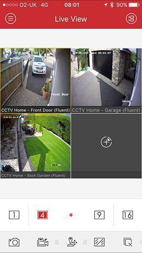 CCTV controls