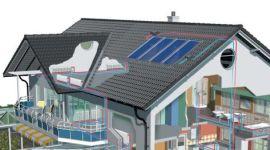 casa clima, progetto impianto di riscaldamento, utilizzo fonti rinnovabili