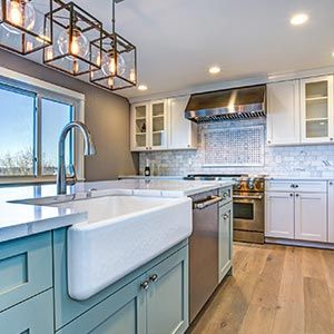 Delicieux Kitchen Remodel Experts U2014 Kitchen With Large Sink In Hamilton, NJ