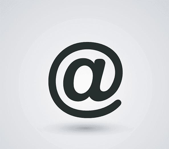 e-mail icona vettore