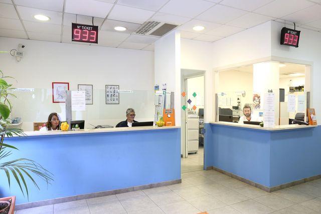 Entrata del labortaorio di analisi cliniche