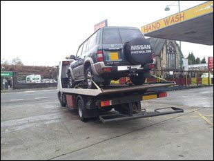 Vehicle recovery services - Stockport,UK - H.H.G. Recovery - Recovery vehicle