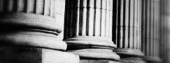 colonne di marmo
