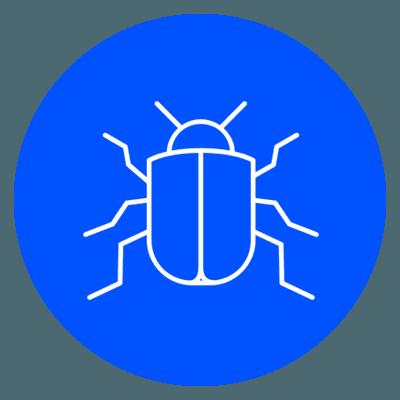 un logo di un insetto