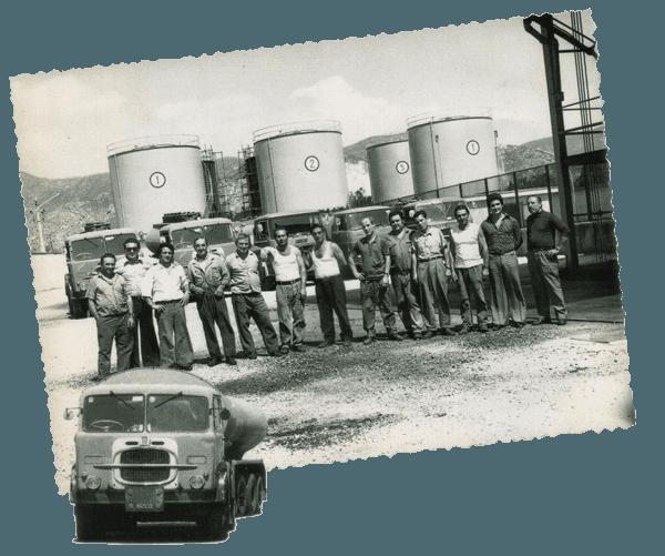foto d'epoca carburanti gaffoil