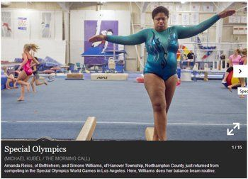 Special Olympics Morning Call Article