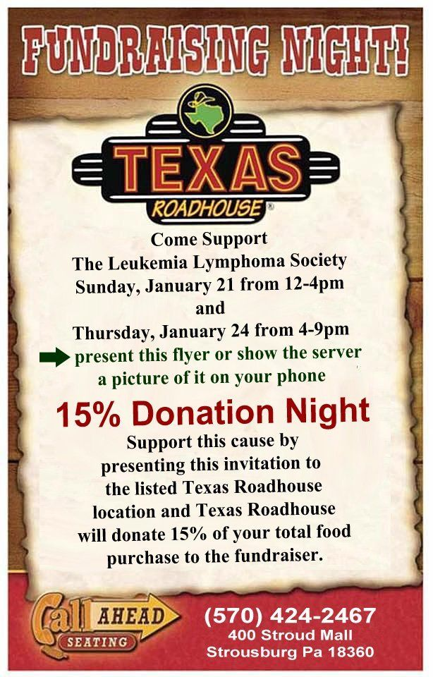 Texas Roadhouse Flyer