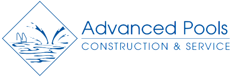 advanced pools construction and service logo