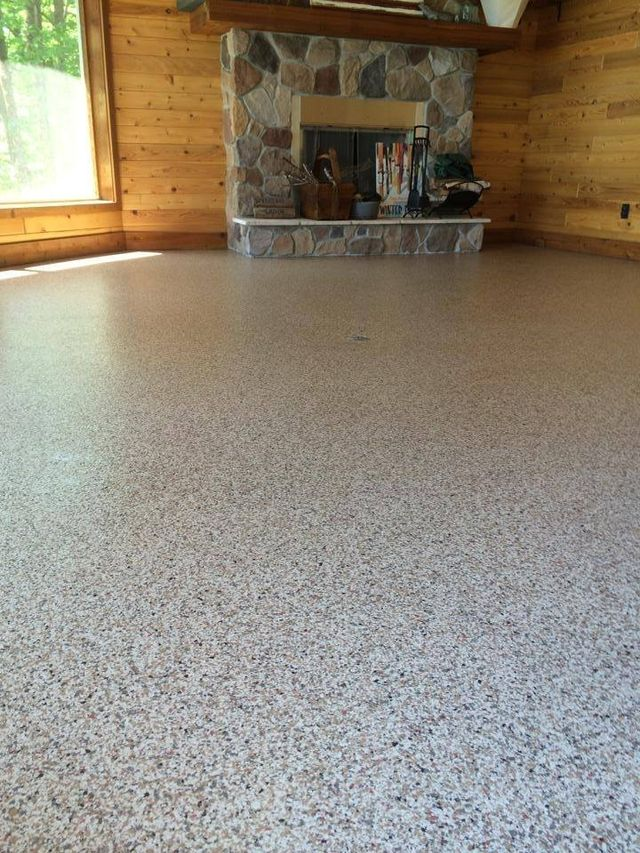 Chip Floors In Washington Concrete Resurfacing Solution