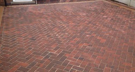 stone driveways in different patterns