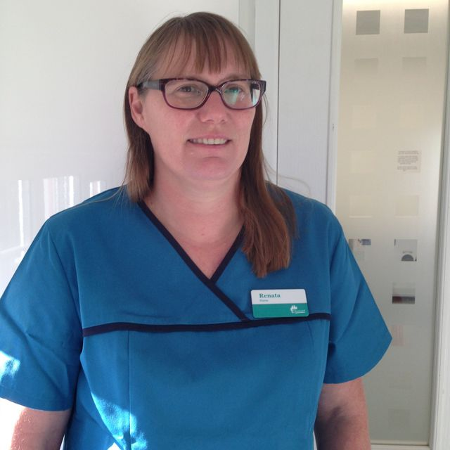 Dental nurse Judith
