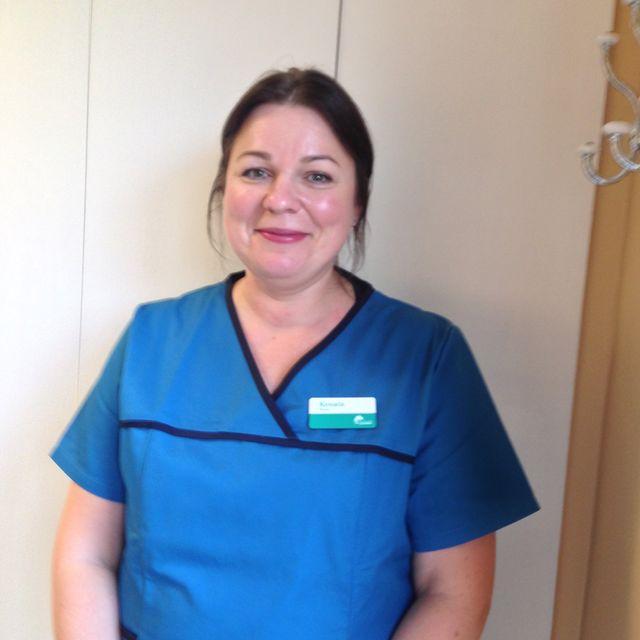 Dental nurse Renata