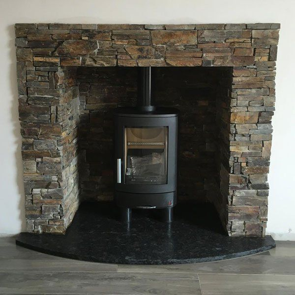 new fireplace or stove