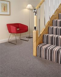 Staircase with quality carpet in Forfar