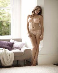 Woman wearing lingerie in Forfar