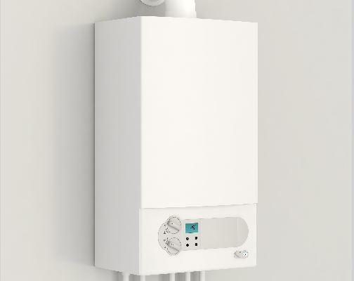 white boiler