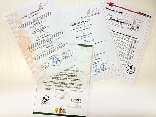 TECNICA LEGNO-sona-certificati