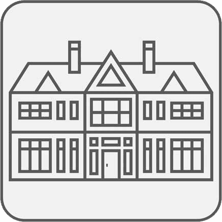 Icona della residenza per anziani
