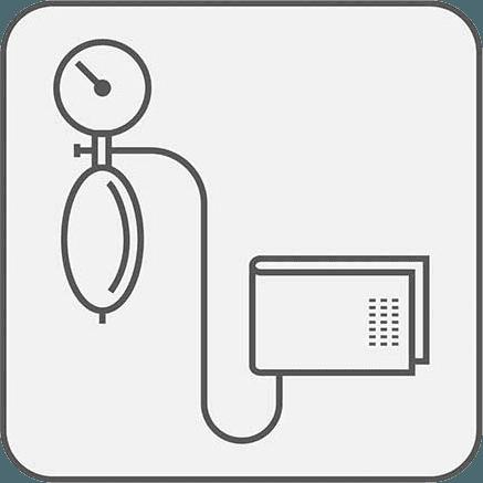 Icona dell'apparecchio per la pressione