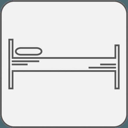Icona del letto