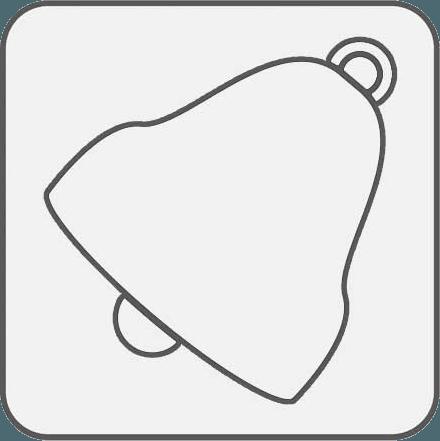 Icona della campanella