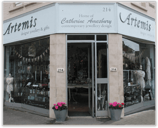 Professional jewellers - Artemis Designer Jewellery and Gifts - Designer jewellery