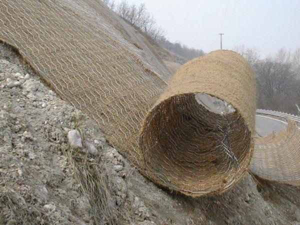 rete per il controllo dell'erosione