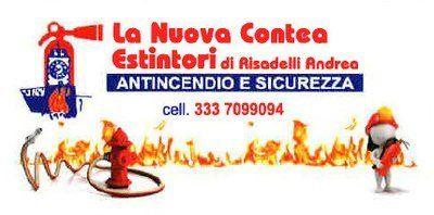 LA NUOVA CONTEA ESTINTORI RISADELLI ANDREA logo