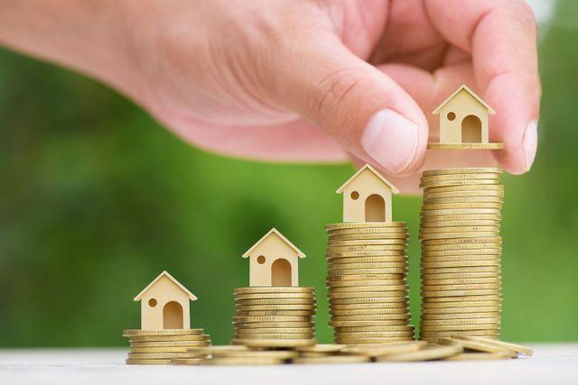 immagine astratta risparmio acquisto immobili