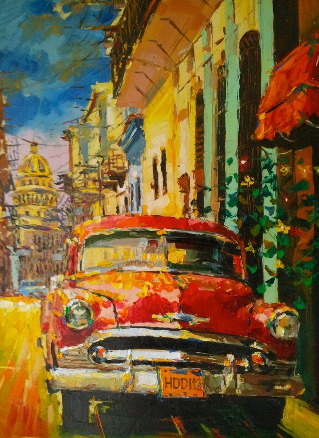 Cuban Car Paintings