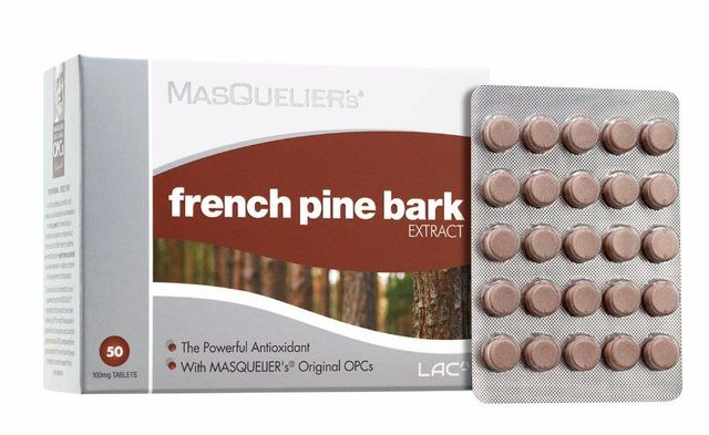 MASQUELIER's French Pine Bark Extract - Antioxidants