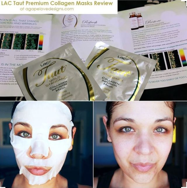 Taut Collagen Mask - Review from AgapeLoveDesigns.com  | RenewAlliance