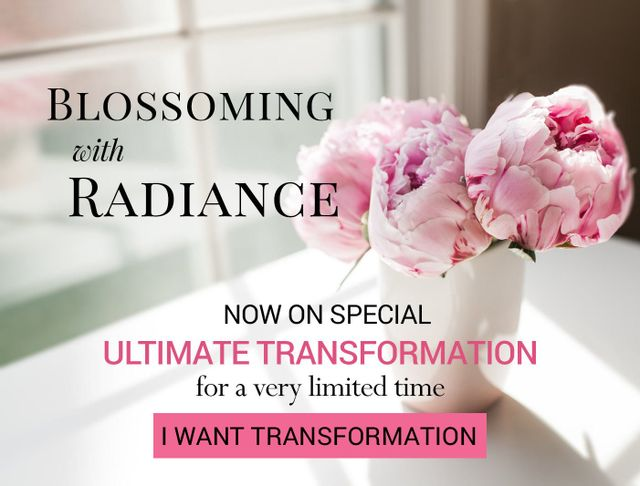Blossoming with Radiance - Now On Special - Ultimate Transformation with Taut Collagen Drinks and Collagen Masks