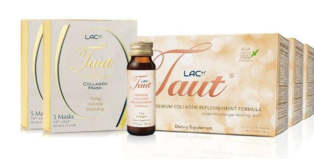 Taut Premium Collagen 24-Day Intense Transformation with Collagen Masks